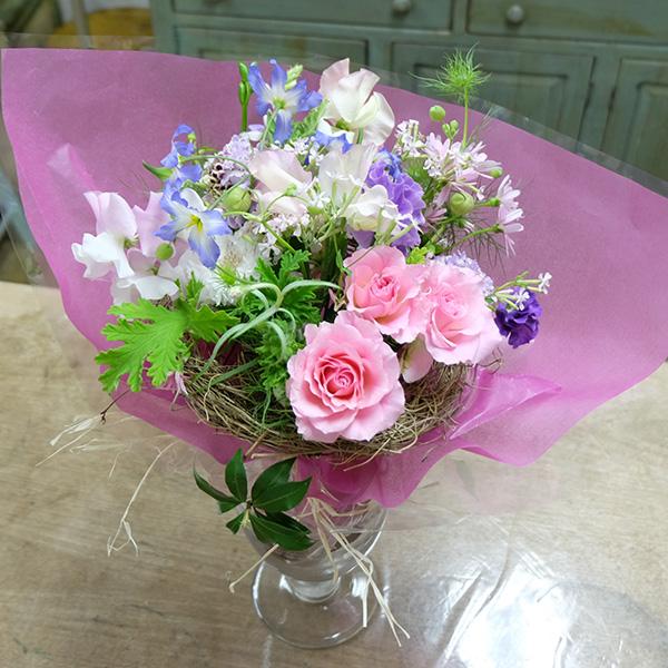[満席]春の花たちで束ねるナチュラルブーケ(1)